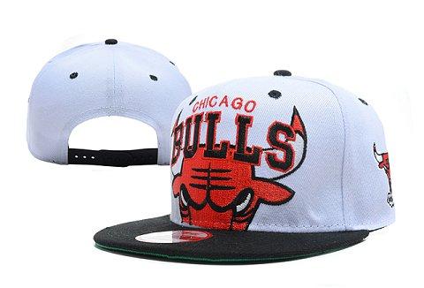 Chicago Bulls NBA Snapback Hat XDF234